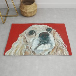 Lola the Cocker Spaniel Rug
