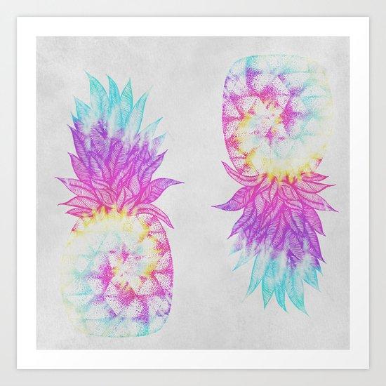 Pineapple Paradise Art Print