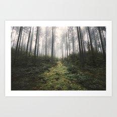 Unknown Road - landscape photography Art Print