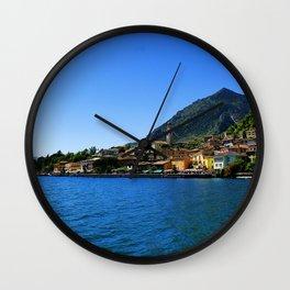 Lago di Garda - Limone Wall Clock