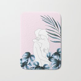 Couple Bath Mat