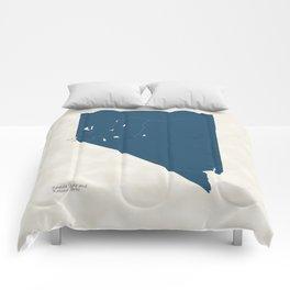 Nevada Parks - v2 Comforters