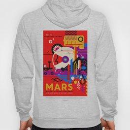 Mars - NASA Space Travel Poster (Alt) Hoody