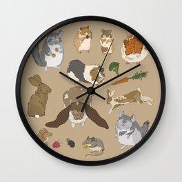 Small pets Wall Clock