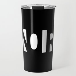Simple Noir Travel Mug