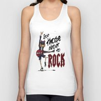 acdc Tank Tops featuring For Those About To Rock by Even In Death