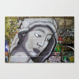 Graffiti Maria Canvas Print