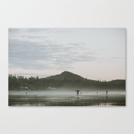 Dusk in Tofino Canvas Print