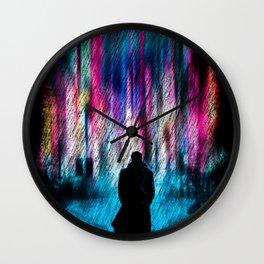 NeonCity Wall Clock