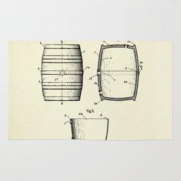 Keg or Barrel-1898 Rug