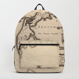 Vintage Map of Bermuda (1626) Backpack