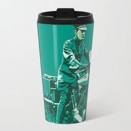 T.E. Lawrence on his Brough Superior Travel Mug