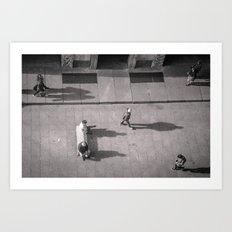 Milano Rua Art Print