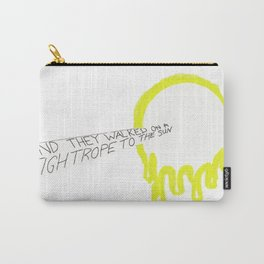 A Walk On a Tightrope To The Sun Carry-All Pouch