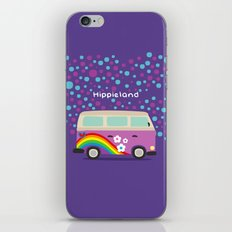 Hippie Land iPhone & iPod Skin