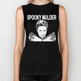 Spooky Mulder (black) Biker Tank