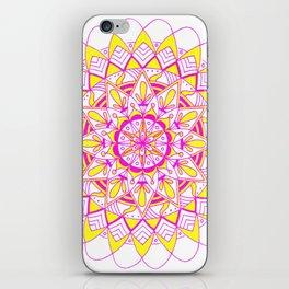 pinkAndyellow iPhone Skin