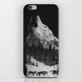 Howling Wolf iPhone Skin