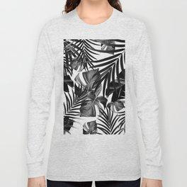 Tropical Jungle Leaves Pattern #10 #tropical #decor #art #society6 Long Sleeve T-shirt