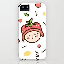 Kawaii Memphis iPhone Case