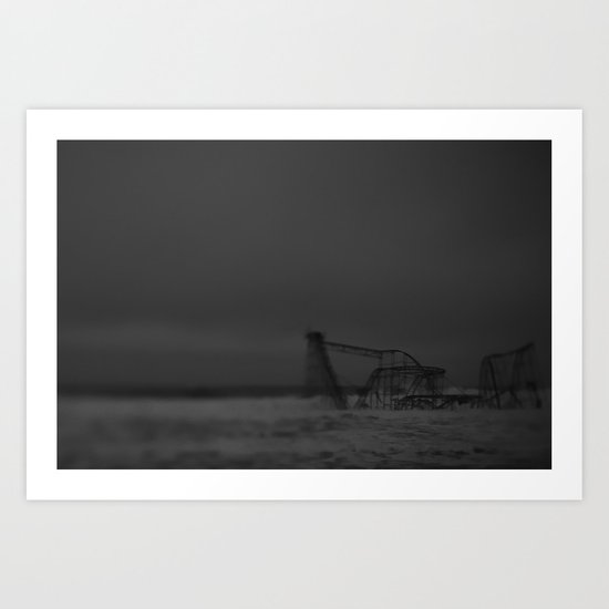The Jet Star, After Sandy Art Print