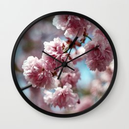 Soft Spring Wall Clock