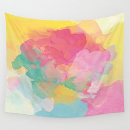 RAINBOW SPLATTER LAYERS Wall Tapestry