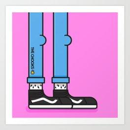 Chook Van Art Print