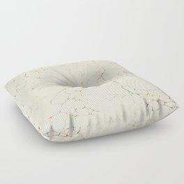 Marbled Cream Floor Pillow