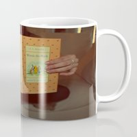 winnie the pooh Mugs featuring Winnie•the•Pooh by Kearsten Taylor