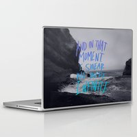 bioshock infinite Laptop & iPad Skins featuring Infinite by Leah Flores