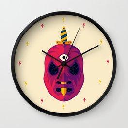 LUCHADOR COSMICO Wall Clock