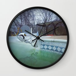 Divin' In Wall Clock