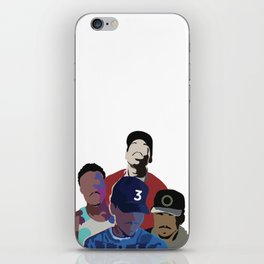 Chance the Rapper - Coloring Book, Acid Rap, 10 Day, SOX iPhone Skin