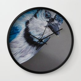 Blue Jay Wall Clock
