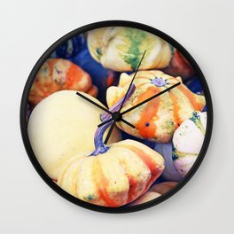 Time of Pumkins Wall Clock