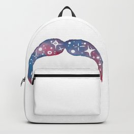 Awesome Space Mustache Backpack