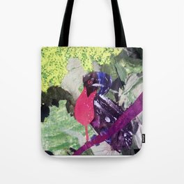 Paper Umbrella Bird Tote Bag