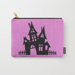 The Halloween House - Pink Palette Side Table Carry-All Pouch