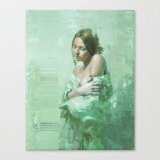 WhiteGirl Canvas Print