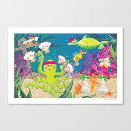 """""""Go The Distance"""" - Sea Gym Canvas Print"""