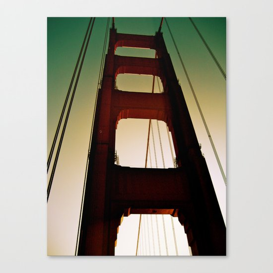 Golden Gate Part Two Canvas Print
