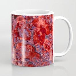 Marble Ruby Sapphire Violet Coffee Mug