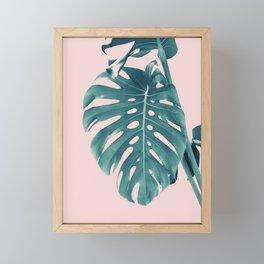 Monstera Delight #3 #tropical #decor #art #society6 Framed Mini Art Print