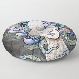 Snake Head Floor Pillow