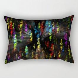 Smoky colours Rectangular Pillow
