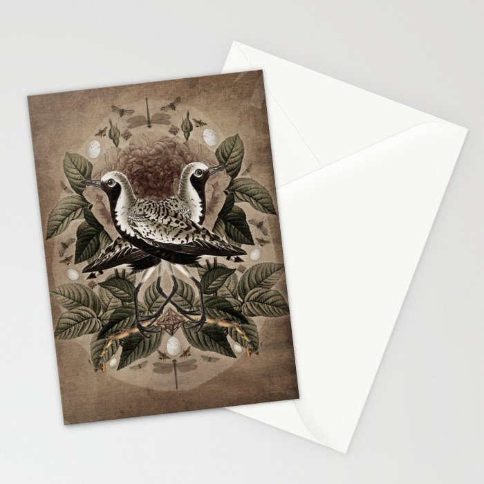 Pluvialis squatarola Stationery Cards