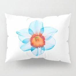 narcissus poeticus (feeling turquoise) Pillow Sham