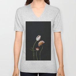 Family of Flowers Unisex V-Neck