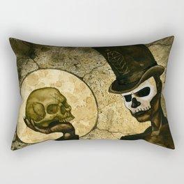 Shadow Man Rectangular Pillow